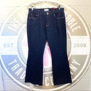 Ladies Valentino Blue Denim Jeans Sz 10